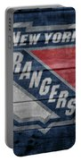 New York Rangers Barn Door Portable Battery Charger