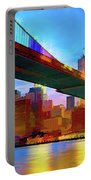 New York Skyline 11 Portable Battery Charger