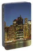 New York Skyline Panorama - 2 Portable Battery Charger
