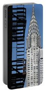 New York Watercolor 3 Portable Battery Charger