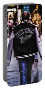 New York Yankees Baseball Jacket Portable Battery Charger