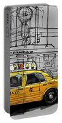 New York Yellow Cab Portable Battery Charger