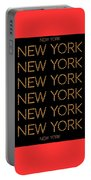 New York No 3  Portable Battery Charger