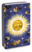 New York's New Solar System Vintage Poster 1898 Portable Battery Charger