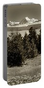 New Zealand Mountains Portable Battery Charger