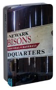 Newark Bisons Portable Battery Charger