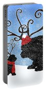 Newfie Reindeer Portable Battery Charger