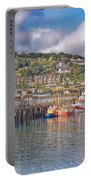Newlyn Harbour Cornwall 2 Portable Battery Charger
