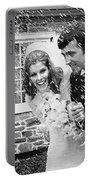 Newlyweds Showered With Rice, C.1960-70s Portable Battery Charger