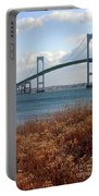 Newport Bridge Newport Rhode Island Portable Battery Charger