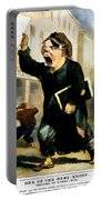 Newsboy Shouting, 1847 Portable Battery Charger