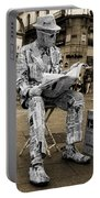 Newspaper Man Portable Battery Charger