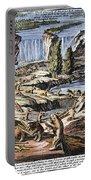 Niagara Falls: Beavers, 1715 Portable Battery Charger