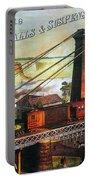 Niagara Falls Bridge, 1876 Portable Battery Charger by Granger