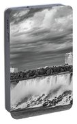 Niagara Falls - The American Side 3 Bw Portable Battery Charger