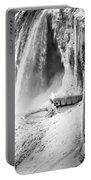 Niagra Winter Scene 1 Portable Battery Charger
