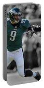 Nick Foles Eagles Super Bowl 2 Portable Battery Charger