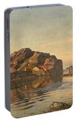 Nielsen, Amaldus Clarin 1838-1932 Morning, Ny-hellesund 1909 Portable Battery Charger