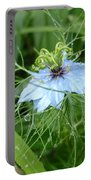 Nigella In Spring Rain Portable Battery Charger