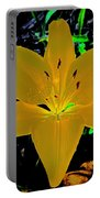 Night Glow Lily Portable Battery Charger