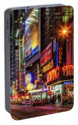 Night In The Big Apple Portable Battery Charger