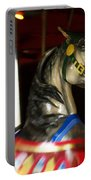 Night Mares At The Central Park Carousel 3 Portable Battery Charger