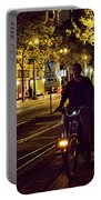 Night Moods Streets Of San Jose   Portable Battery Charger