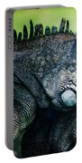 Night Of The Iguana Portable Battery Charger