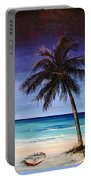 Night On The Beach Portable Battery Charger