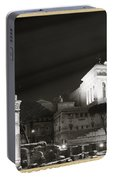 Night Panorama In Rome Portable Battery Charger