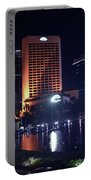 Night Skyline Of Jakarta Indonesia 3 Portable Battery Charger