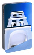 Night Taking Over The Day Of Church In Greece Crete 2 Portable Battery Charger