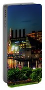 Night View Inner Harbor Portable Battery Charger