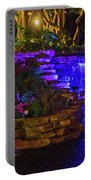 Night Water Fall  Portable Battery Charger