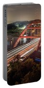 Nighttime Boats Cruise Up And Down The Loop 360 Bridge, A Boaters Paradise With Activities That Include Boating, Fishing, Swimming And Picnicking - Stock Image Portable Battery Charger