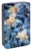 Nighttime Narcissus Portable Battery Charger