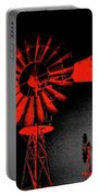 Nightwatch Portable Battery Charger by Wendy J St Christopher