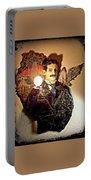 Nikola Tesla At Wardenclyffe Portable Battery Charger