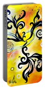 Nirvana Zen Yellow Way To Eternity Portable Battery Charger