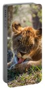 Lion Cub Lick Portable Battery Charger