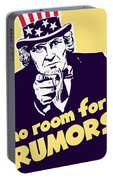 No Room For Rumors - Uncle Sam Portable Battery Charger