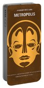 No052 My Metropolis Minimal Movie Poster Portable Battery Charger