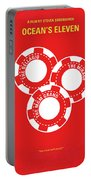 No056 My Oceans 11 Minimal Movie Poster Portable Battery Charger