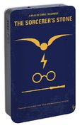 No101 My Harry Potter Minimal Movie Poster Portable Battery Charger