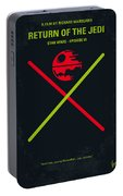 No156 My Star Wars Episode Vi Return Of The Jedi Minimal Movie Poster Portable Battery Charger