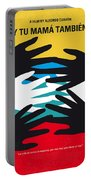 No468 My Y Tu Mama Tambien Minimal Movie Poster Portable Battery Charger