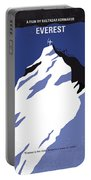 No492 My Everest Minimal Movie Poster Portable Battery Charger