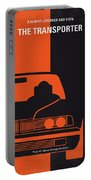 No552 My The Transporter Minimal Movie Poster Portable Battery Charger