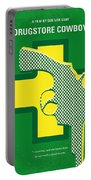 No628 My Drugstore Cowboy Minimal Movie Poster Portable Battery Charger