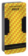 No703 My Pixels Minimal Movie Poster Portable Battery Charger